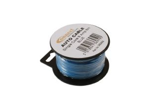 Connect 36959 Mini Reel Automotive Cable 8 Amp Blue 6m